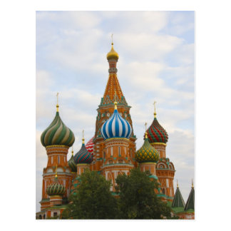 St. Basil's Cathedral in Red Square, Moscow Postcard