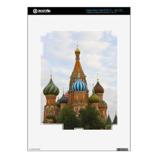 St. Basil's Cathedral in Red Square, Moscow Decals For iPad 3