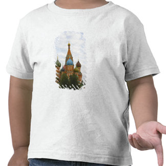 St. Basil's Cathedral in Red Square, Moscow T Shirts