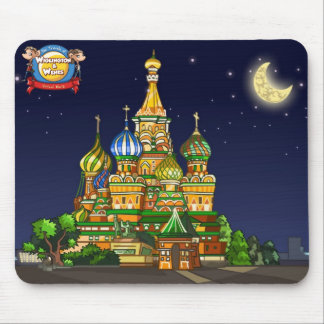 St Basil's Cathedral Mouse Pad