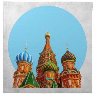 St. Basil's cathedral Napkin