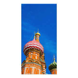 St. Basil's cathedral Photo Card