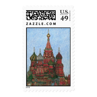 St. Basil's Cathedral Postage