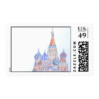 St. Basil's Cathedral Postage Stamp
