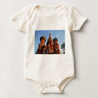 St Basils Cathedral Russia Baby Bodysuit