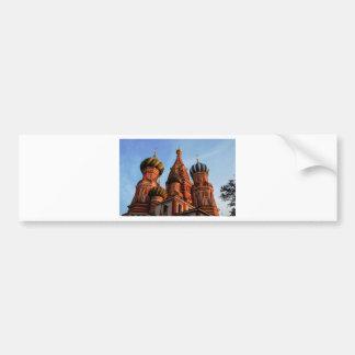 St Basils Cathedral Russia Bumper Sticker
