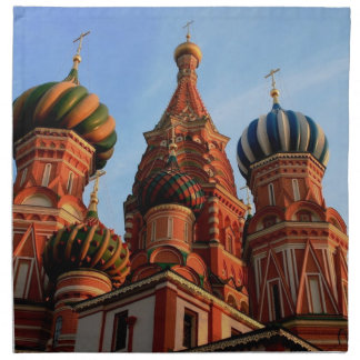 St Basils Cathedral Russia Cloth Napkin
