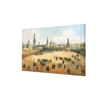 St. Basil's Cathedral seen from the Kremlin, from Canvas Print