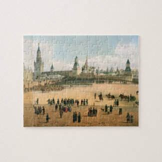 St. Basil's Cathedral seen from the Kremlin, from Jigsaw Puzzle