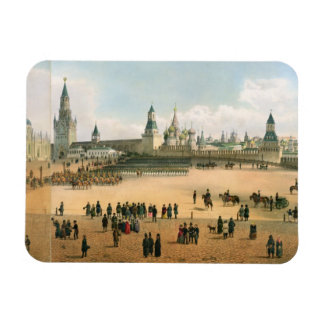 St. Basil's Cathedral seen from the Kremlin, from Rectangular Photo Magnet