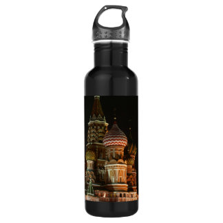 ST BASIL'S CATHEDRAL STAINLESS STEEL WATER BOTTLE