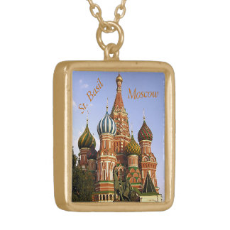 """ST. BASIL'S COLORFUL ONION DOMES"" PERSONALIZED NECKLACE"