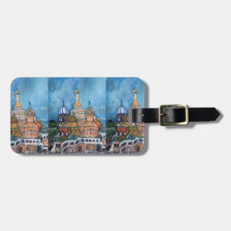 St. Basil's, Moscow, Russia Luggage Tag