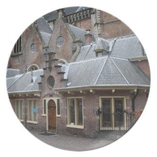 St Bavo Church, Haarlem Melamine Plate