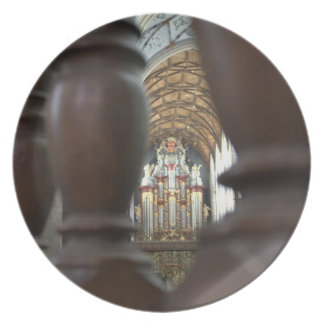St Bavo Church, Haarlem Plate