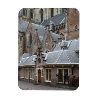 St Bavo Church, Haarlem Rectangular Photo Magnet