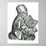 St. Bede de 'Liber Chronicarum Posters