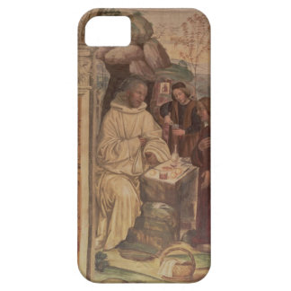 St. Benedict against a  Landscape, from the Life o iPhone 5 Cases