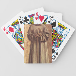 St. Benedict by Piero della Francesca Card Decks