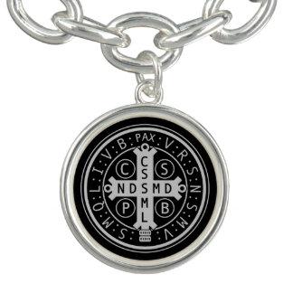 St. Benedict Medal Charm Bracelet