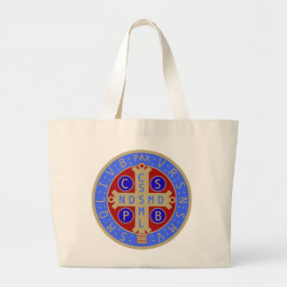 St. Benedict Medal Jumbo Tote (and Others) Jumbo Tote Bag