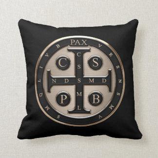St. Benedict Medal Pillow