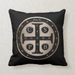 St. Benedict Medal Pillows