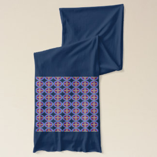 St. Benedict Medal Scarf, All Colors Scarf
