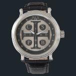 "St. Benedict Medal Wrist Watch<br><div class=""desc"">St. Benedict Medal</div>"