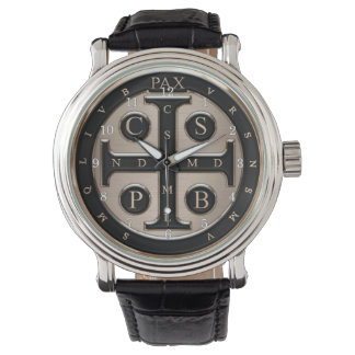 St. Benedict Medal Wrist Watch