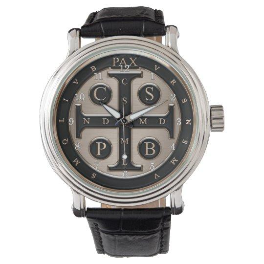 St. Benedict Medal Wrist Watch