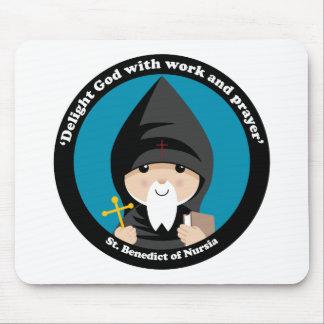 St Benedict of Nursia Mouse Pad