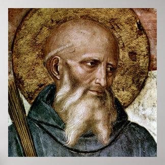 St. Benedict of Nursia Poster