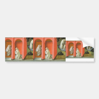 St. Benedict Orders St. Maurus to the Rescue Bumper Sticker