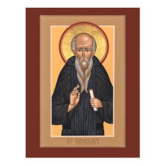 St. Benedict Prayer Card Postcard