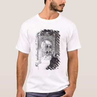 St. Benedict Preaching in the Monastery T-Shirt