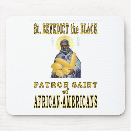 ST. BENEDICT the BLACK Mouse Pad