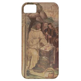 St. Benedicto contra un paisaje, a partir de la iPhone 5 Carcasa