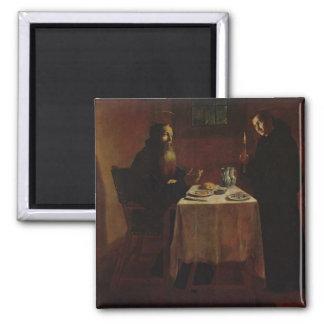 St. Benedicto que bendice St. Maur Iman Para Frigorífico