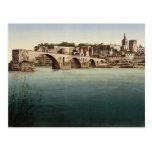 St. Benezech (es decir, santo Benexet), puente, Av Tarjetas Postales