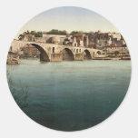 St. Benezech (es decir, santo Benexet), puente, Etiquetas Redondas