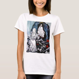 St Bernadette at the Grotto T-Shirt