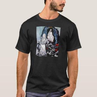 St Bernadette at the Grotto T-Shirt