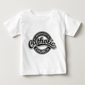 St. Bernadette Catholic Church black and white Baby T-Shirt