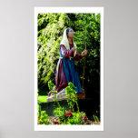 St Bernadette Fine Art Photograph Poster