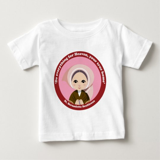 St. Bernadette Soubirous Baby T-Shirt