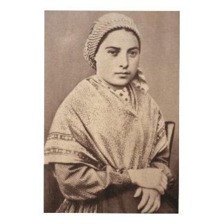 St. Bernadette Soubirous Cuadros De Madera