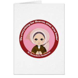 St. Bernadette Soubirous Felicitacion