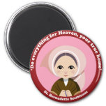 St. Bernadette Soubirous Fridge Magnets
