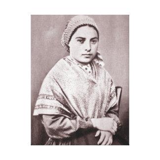 St. Bernadette Soubirous Impresiones De Lienzo